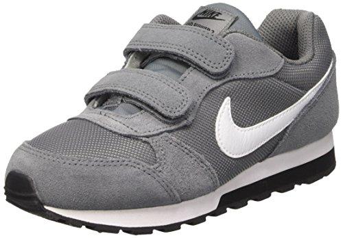 Nike Jungen MD Runner 2 (PSV) Laufschuhe, Grau (Cool Grey/White/Black 002), 35 EU