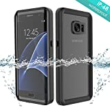 FugouSell Coque Étanche Samsung Galaxy S7 Edge, IP68 Ultra Mince 360°Protection Waterproof Housse [Antichoc] Robuste munie...