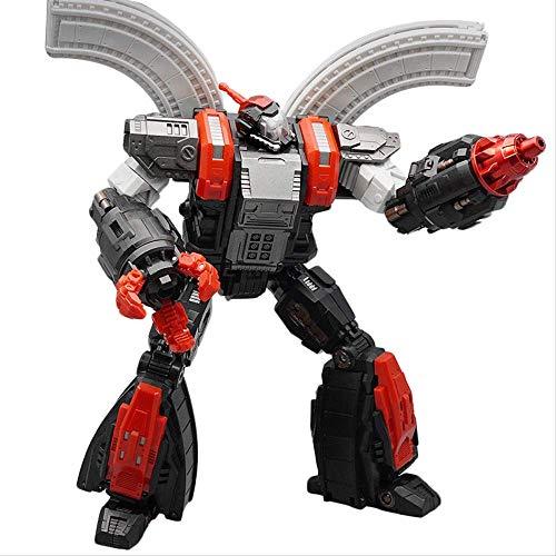 QWYU G1 Transformación Figura de Acción Juguete Omega Supreme Dark Black Versión Modelo ABS Deformación Coche Robot