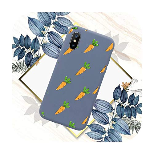 Carrot - Carcasa para iPhone 11 12 mini Pro XS MAX 8 7 6 6S Plus X SE 2020 XR-a3-iphone7or8