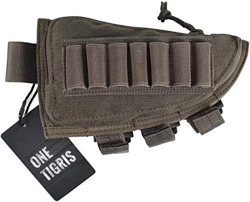 OneTigris Taktische Shell Holder Pouch Gewehrschaft-Tasche (Ranger Grün)
