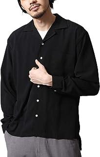 [ジップファイブ] ZIP FIVE 長袖 オープンカラーシャツ 開襟シャツ メンズ 17110