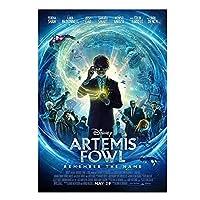 Qqwer Artemis'Fantasy Adventure(2020)Fediashawムービーキャンバスポスターとプリント壁アート絵画写真家の装飾-50X70Cmx1Pcs-フレームなし