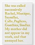 Sophie Calle: Rachel Monique (Beaux livres)