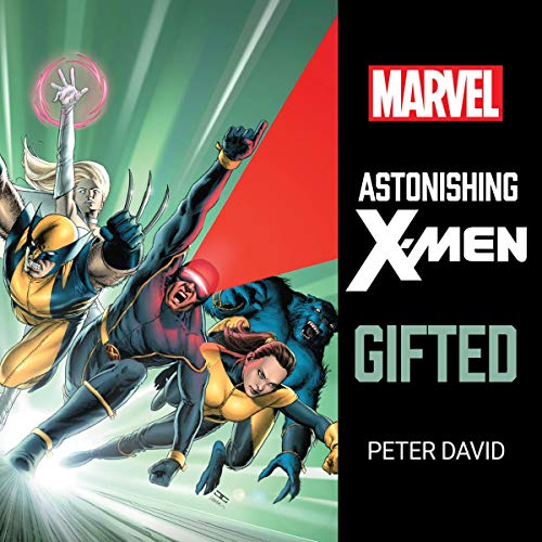 Astonishing X-Men: Gifted audiobook cover art
