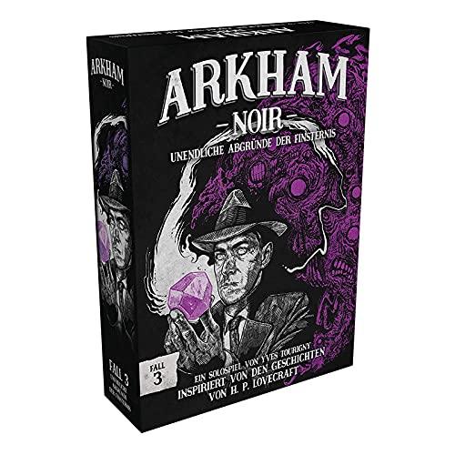 Asmodee Arkham Noir - Fall 3: Unendliche Abgründe der Finsternis, Kennerspiel, Kartenspiel, Deutsch