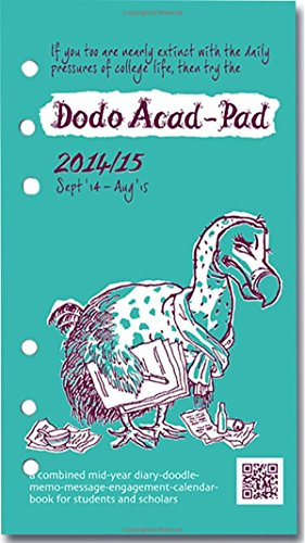 Dodo Acad-Pad Filofax-Compatible Personal Organiser Diary Refill 2014 - 2015 Week to View Academic Mid Year Diary: A Combined Mid-Year ... for Students and Scholars