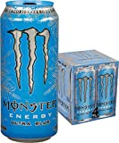 Monster Energy, Ultra Blue, 16 fl oz, 4 Pack