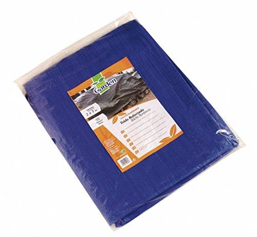Toldo reforzado gramaje 90 grs, 3 x 5 m, color azul - Catral 560112
