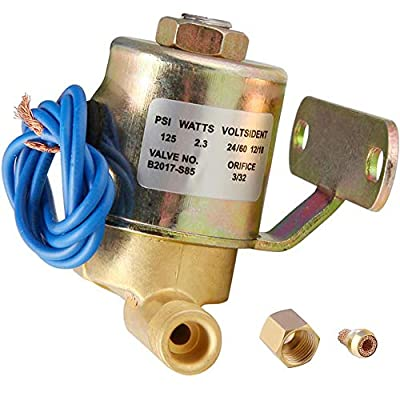 Sumnew Tech 4040 Solenoid Valve for Aprilaire, Humidifier Replacement Unit, 24 V, 60 Hz AC, 125 PSI, Humidifier Model 400, 500, 600, 700, Replaces OEM valves by Sumnew Tech