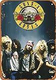 Guns N' Roses Metall Blechschild Retro Metall gemalt Kunst