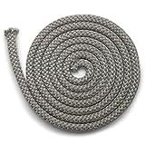 Junta para chimenea, 2 m, diámetro de 12 mm, cinta de sellado no autoadhesiva, apta para varios modelos de chimenea Justus