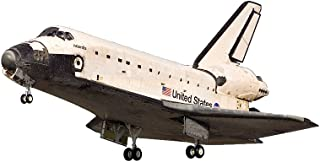 Dragon Models Space Shuttle with Cargo Bay and Satellite Model Kit (1/144 Scale)