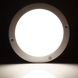 Albrillo 1200lm Motion Sensor LED Ceiling Lights, 100 Watt Equivalent LED Light Fixtures for Kitchen Closet Basement Bedroom, Daylight White