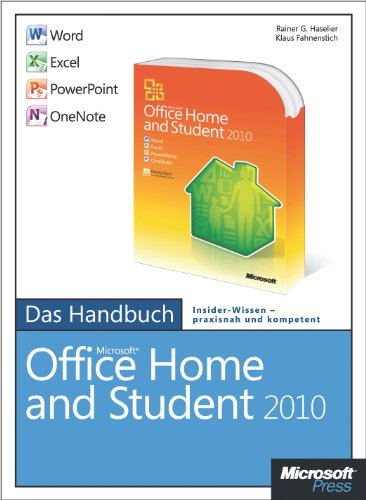 Microsoft Office Home and Student 2010 - Das Handbuch: Word, Excel, PowerPoint, OneNote (German Edition)