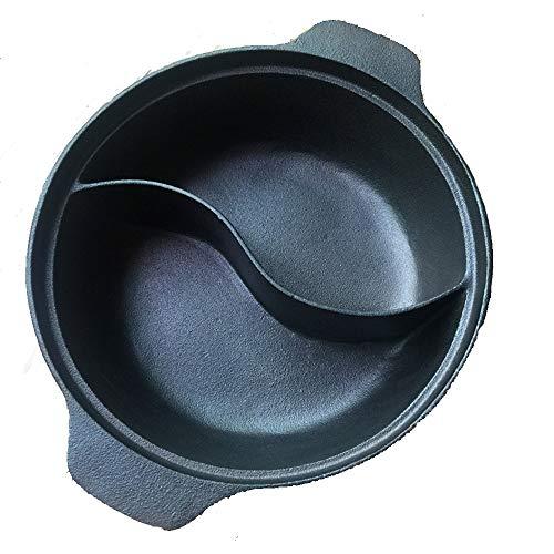 Hot pot cooker - Buffet enkele hete pot gietijzer hot pot server warmer wijn hot pot hete pot koper soep kookplaat shabu-shabu