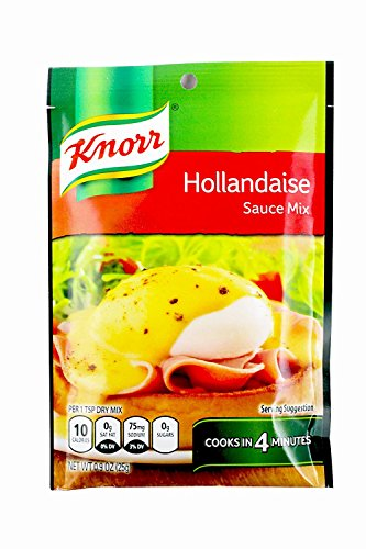 Knorr Hallandaise Sauce Mix, 0.9 Ounce (Pack of 6)