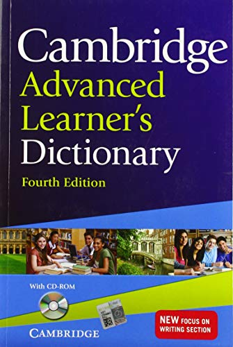 Cambridge Advanced Learner's Dictionary Fourth Edition: Paperback with CD-ROM