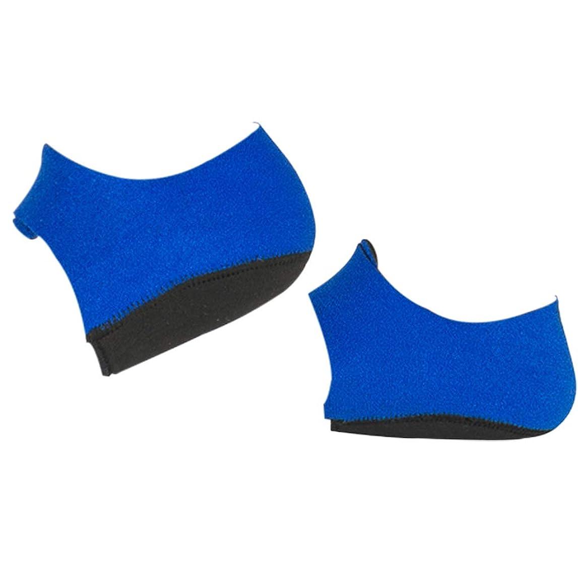 不健全比べるマイコンかかとサポーター 足底筋膜炎 シリコーン フットケア ヒールプロテクター 全2サイズ - L