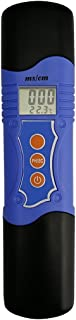AMTAST Waterproof pH Meter Electrical Conductivity Meter Hydroponics PH TDS Combo Meter Multiparameter Tester