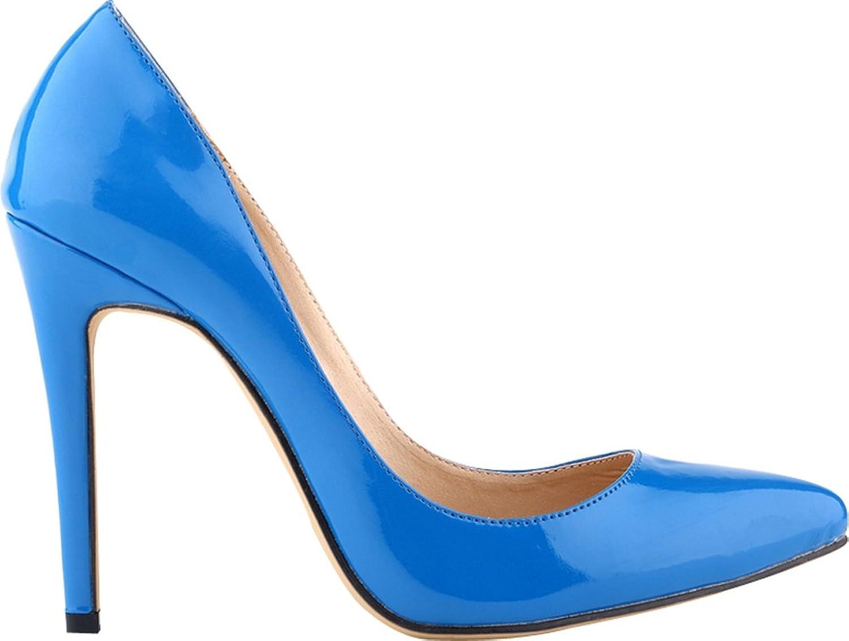 Vimedea Womens Business Lightweight Stiletto Pointed Toe Court shoes Charm Pump 302-1QP