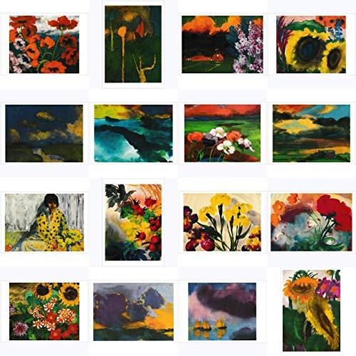 Kunstkarten-Komplett-Set Emil Nolde