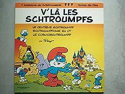 Les Schtroumpfs 33Tours vinyle V'La Les Schtroumpfs