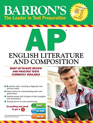 Barron's AP English Literature and Composition with CD-ROM, 6th (Barron's...