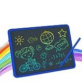Tavoletta LCD da Disegno a Colori 11 Pollici Ewriter Digitale Scrittura Grafica Lavagna Eelettronica Cancellabile Writing Tablet Drawing Pad Regalo Bambini 3+, 6 a 12 Anni Ragazze, Blu