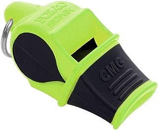 FOX 40 Sonik Blast CMG Whistle Multicoloured Neon-Yellow / Black with Breakaway Cord