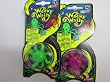 Nowstalgic Toys 2 Packs of Wacky Wally, The Original Wall Crawler