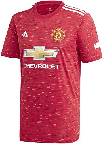 Adidas Mens Manchester United Home Soccer Jersey Realred M product image