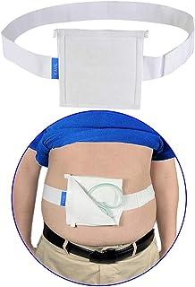 """G Tube Holder Belt Feeding Tubes Accessories G Tube Covers Peg Tube Gastrostomy Catheter Pd Dialysis Belt Pads Drainage Medical Abdominal Dialysis for Men Women(28""""~37"""")"""