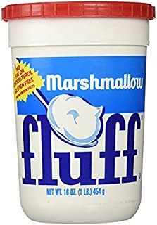 Fluff, Marshmallow Spread, 16 OZ (Pack of 12)