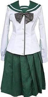Highschool of The Dead Cosplay Costume Saeko Busujima Rei Miyamoto School Uniform