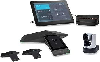 Polycom + HP SRS Large Bundle for Microsoft Teams (6230-85680-001) - Polycom Trio 8500 W/Expansion Mics + HP Slice + EagleEye IV USB Camera