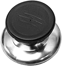 Goolsky Pot Lid Cover Knob Stainless Steel Combined With PP Material Sturdy Durable Kitchen Tool for Most Of Mounting Hole Of Lid