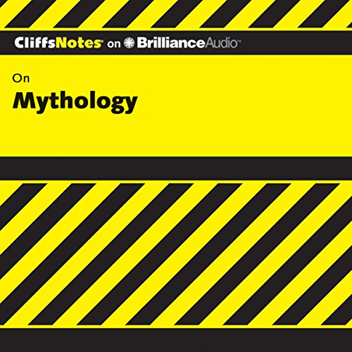 Mythology: CliffNotes audiobook cover art
