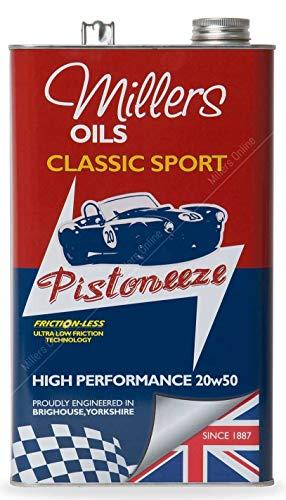 Millers HP Classic 20w50 hoogwaardige volledig synthetische motorolie 5 liter