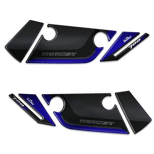 Adhesivos 3D Protecciones Paramani Compatible con Yamaha Tracer 700 2019 Azul