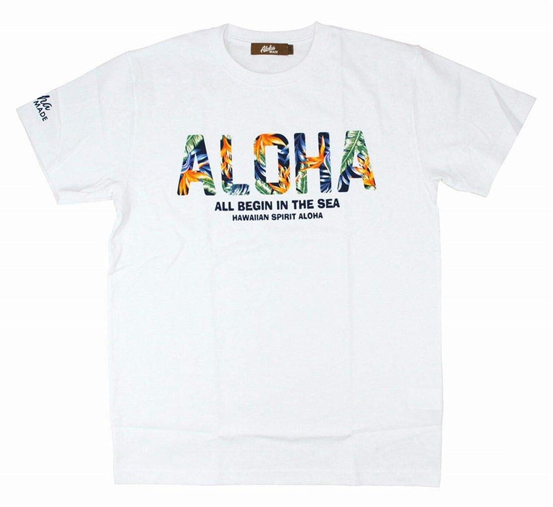アロハメイド レディース 半袖 Tシャツ (レディース/ホワイト) 192MA2ST131 フララニ ハワイアン雑貨 サーフブランド