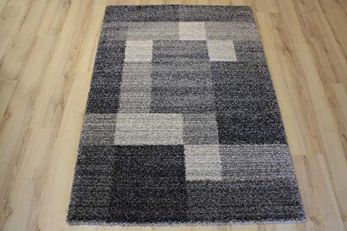 Ragolle Mehari Teppich 23008 5248 Anthrazit Grau (133 x 195 cm)