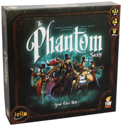Funforge TPSUS01 - The Phantom Society Brettspiel, Englisch