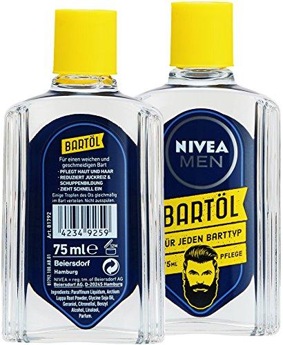 NIVEA Men Bartöl für Bart & Stoppeln mindert Juckreiz Abbildung 3
