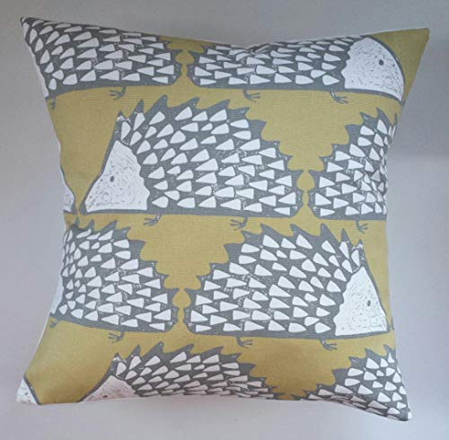 Cushion Cover in Scion Spike The Hedgehog Honey 14' 16' 18' 20'