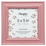 Hampton Frames PALOMA PAL301955P - Marco de fotos (13 x 13 cm), color rosa