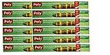 Pely® 5183 Fogli di Alluminio Extra Resistente, con Scatola Dispenser Roll-Fix con Doppia Sega per un Facile Taglio. Lunghezza Rotolo 20 Metri, Larghezza 29 cm. Confezione Super Economica di 12 Unità