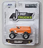 Jada Just Trucks 1:64 Scale, Orange with White top 1957 Chevy Suburban Wave 21