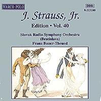 Strauss: Orchestral Wks V.40