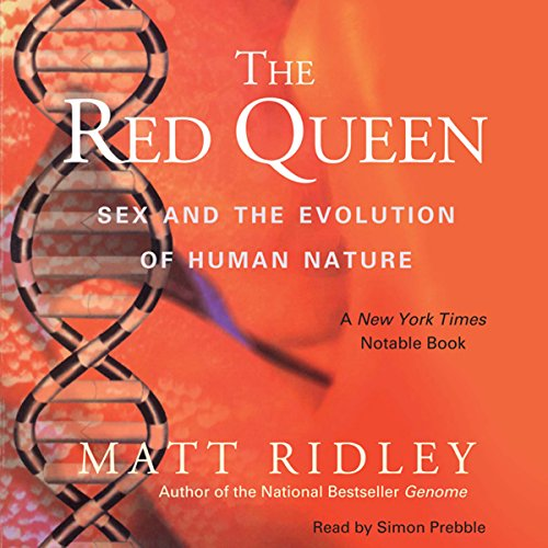 The Red Queen     Sex and the Evolution of Human Nature              Autor:                                                                                                                                 Matt Ridley                               Sprecher:                                                                                                                                 Simon Prebble                      Spieldauer: 12 Std. und 56 Min.     2 Bewertungen     Gesamt 4,5